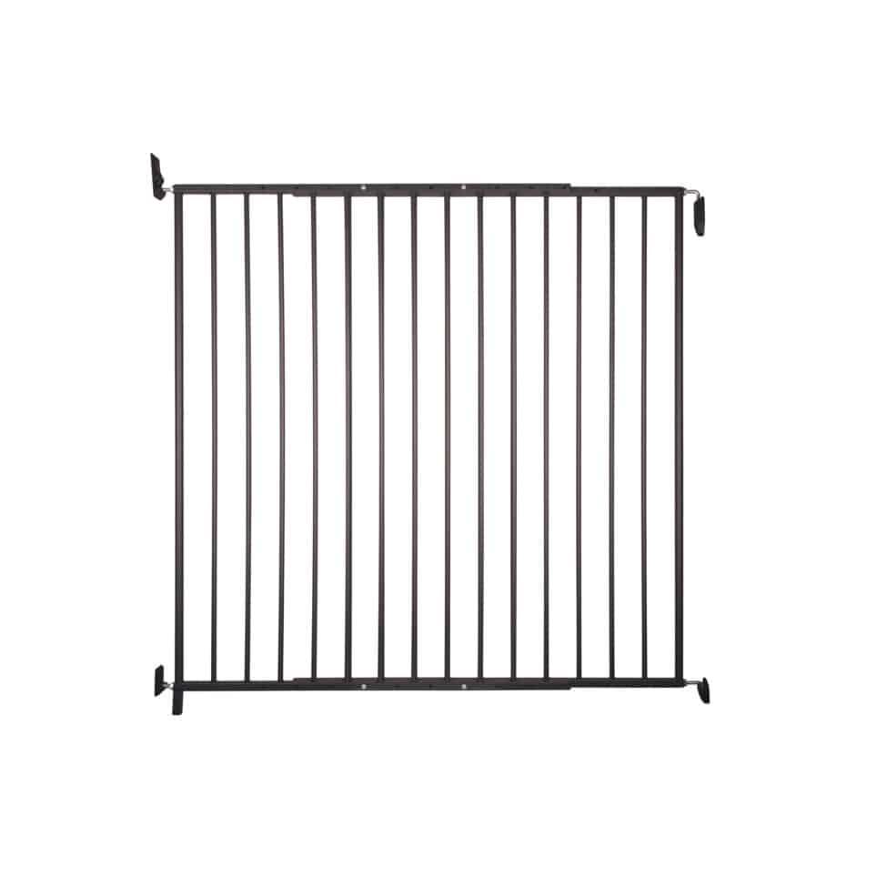 Barrière de sécurité animaux métal noir Kenny