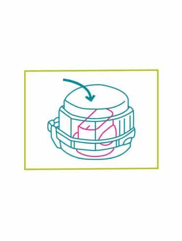 Accessoire de sécurité enfant - bouton de gazinière / four