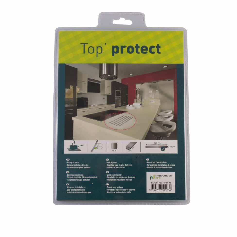 Baguettes de protection plan de travail Top Protect