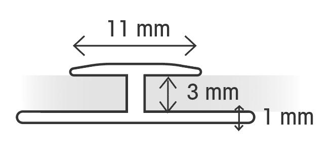 Profil de jonction bord a bord