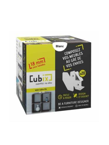 Cubix blanc emballage