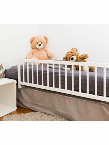 Barriere de lit blanche