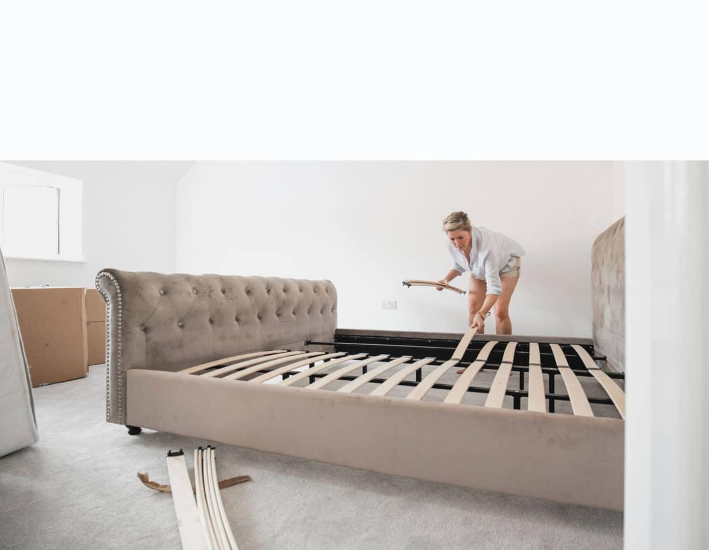 Réparation du lit