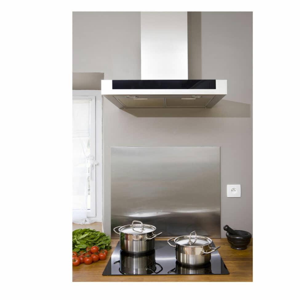 Fond de hotte aluminium cuisine