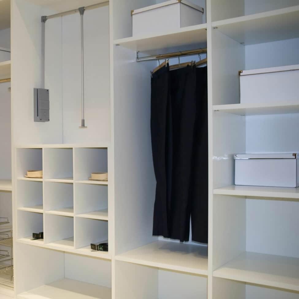 Taquets de meuble blanc ambiance