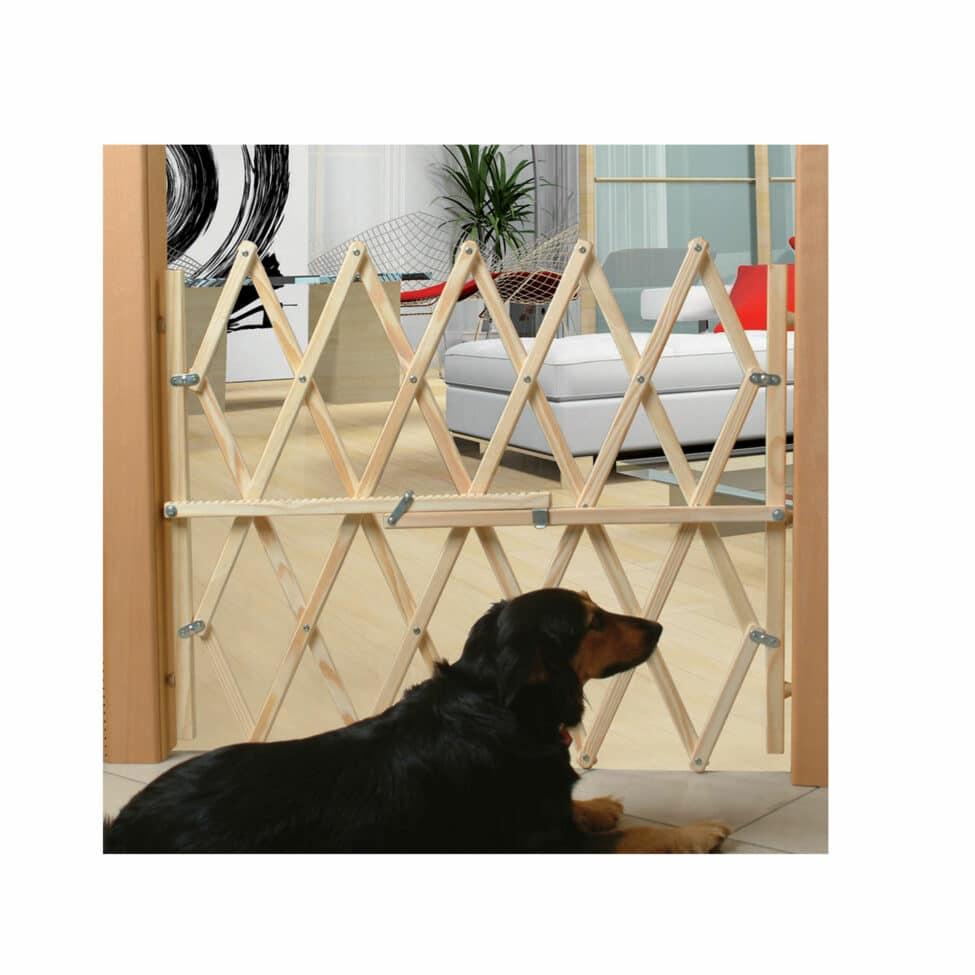 Barrière de sécurité animaux en bois Press Fix