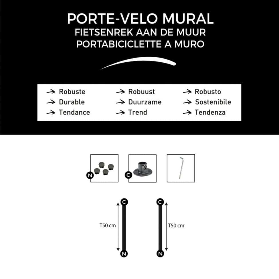 T-Connect-Porte-velo-mural-composition-du-kit