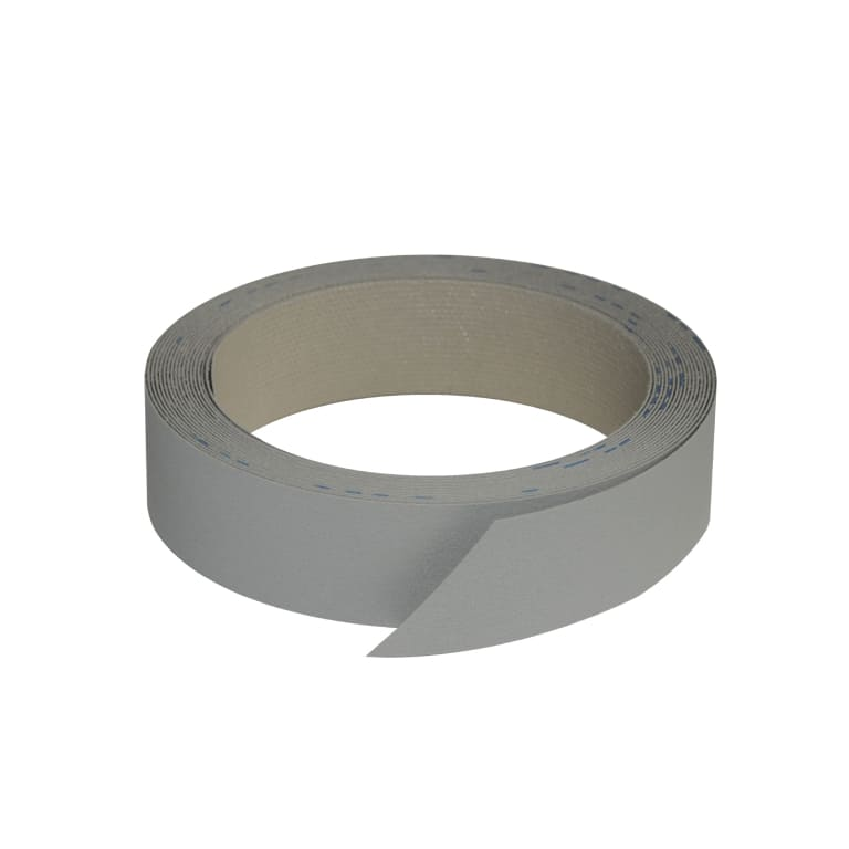 Bande de chant pré-encollée gris perle 23mm