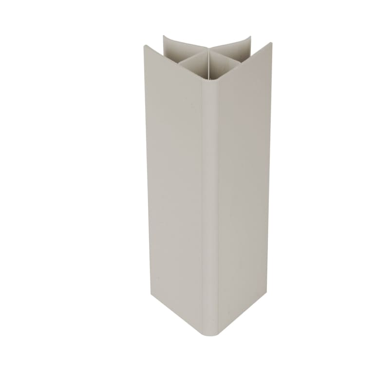 Angle universel plinthe cuisine blanc