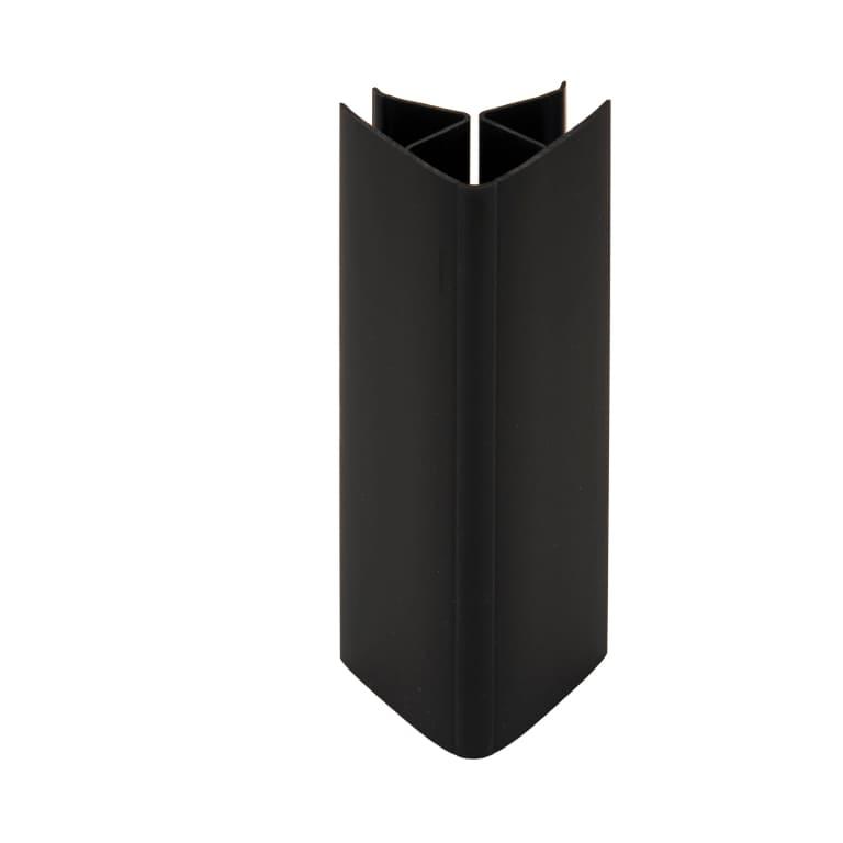 Angle universel plinthe cuisine noir
