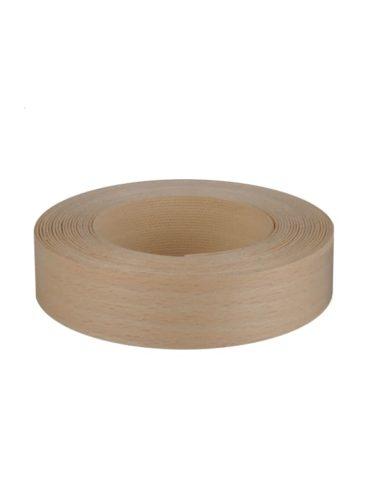 Bande de chant thermocollant hêtre bois véritable 23mm