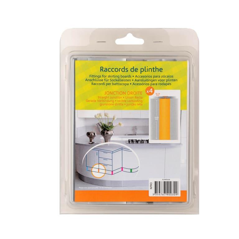 Jonction droite plinthe cuisine packaging