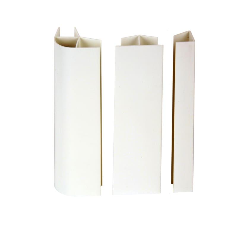 Kit raccord de plinthe cuisine blanc