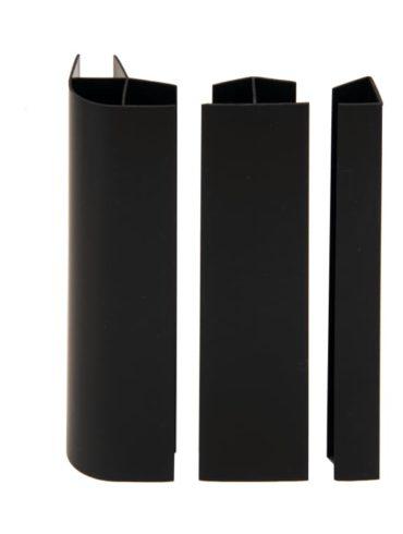 Kit raccord de plinthe cuisine noir