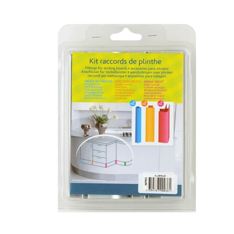Kit raccord de plinthe cuisine packaging