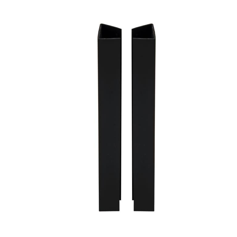 Profil de finition plinthe cuisine noir