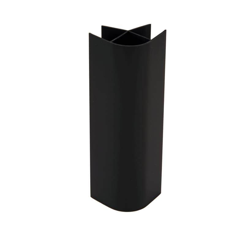 Raccord plinthe angle droit noir