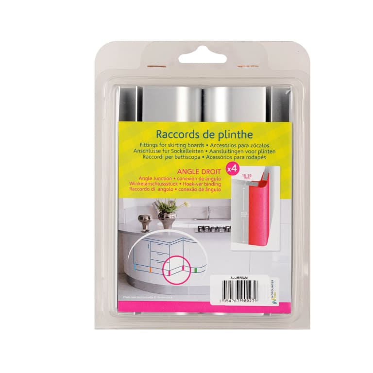 Raccord plinthe angle droit packaging