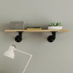 Etagère métal et bois