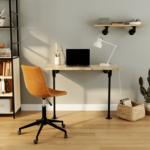 Mobilier de bureau avec étagère style industriel