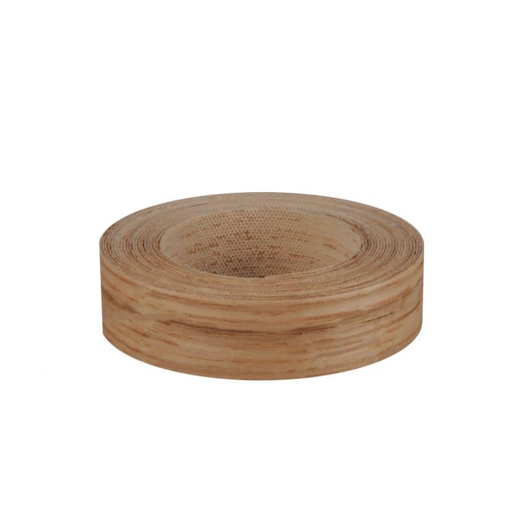 Bande de chant chêne bois véritable