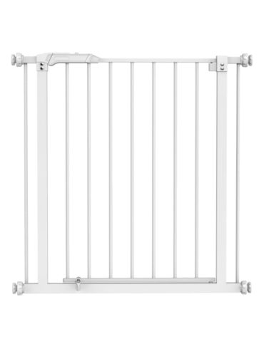 barriere metal blanc